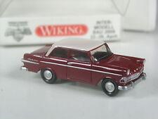 neuwertig: Wiking Opel Rekord P2 rot-weiß 1960 IMB 2009 in OVP