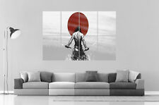 SAMOURAI GUERRIER WARRIOR JAPONAIS Wall Art Poster Grand format A0 Large Print