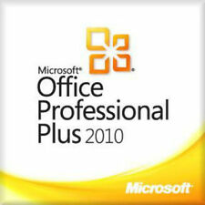Microsoft Office 2010 Professional 32/64 Bit Full Retail Version