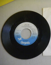 BLONDIE call me / instrumental CHRYSALIS  45