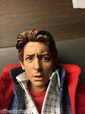 RAINMAN 1/6 TIME TRAVELER MARTY MCFLY BACK TO THE FUTURE BTTF HOT TOYS BODY