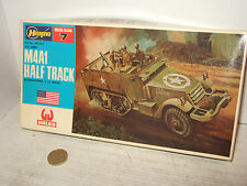 Hasegawa MB-007 M4A1 U.S. Army Half Track & Figures Model Kit in 1:72 Scale