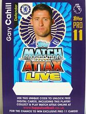 Match Attax 2016/17 Premier League - Gary Cahill - Online Code