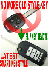 JAPAN NEW FLIP KEY REMOTE TO 08-11 ACCORD COUPE CHIP TRANSPONDER KEYLESS ENTRY