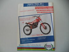 advertising Pubblicità 1986 MOTO FANTIC TRIAL 50.1