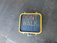 Traffic light WALK  DON'T WALK SIGN