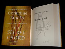 Geraldine Brooks signed & dated The Secret Chord 1st printing HC book Pulitzer