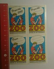 Autocollant/sticker: zoo shoes & accessoires (030916145)