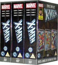 The X-Men Marvel Season 1 2 3 Series Boxset on 9 DVD