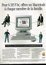 Publicité advertising 1994 Ordinateur Performa Apple Macintosh