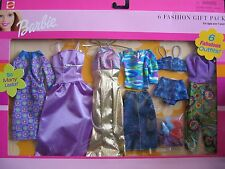 Barbie 6 Fashion Gift Pack - 6 Fabulous Outfits! So Many Looks! (2001)