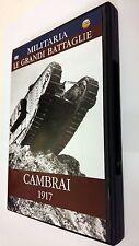 Militaria Le Grandi Battaglie della Storia CAMBRAI 1917 DVD Documentario