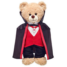 Build a Bear Clothing - New Halloween Black and Red Vampire Costume - 3 pcs.