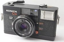 KONICA C35 EF Black Point&Shoot 35mm Film Camera w/ 38mm f/2.8 Lens from Tokyo