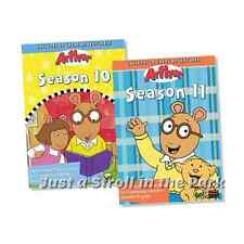 Arthur PBS TV Show Series Complete Seasons 10 & 11 Box / DVD Set(s) NEW!