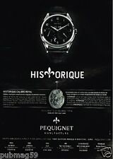 Publicité advertising 2012 La Montre Calibre Royal Pequignet