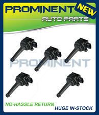 SET OF 5 NEW IGNITION COIL FOR Volvo 1999 XC70 XC90 C70 S60 UF341 C1258 9125601