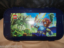 LEGO Chima Blue Minifigure Storage Case NEW NOT SOLD IN STORES