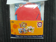 NEW: CHILDREN'S CRAFTS:  MAKE YOUR OWN FOAM PHOTO FRAMES - PACK of TWO Designs