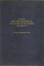 Obra Filatélica - Reseña Descriptiva de los sellos de Correos de España   NUEVO