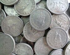 50 Coins LOT -1 Rupee - George VI 1947 Nickel – 11.8 g – ø 28 mm - British india