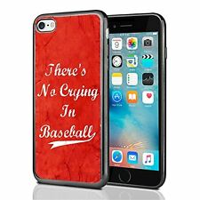 Theres No Crying In Baseball Red For Iphone 7 Case Cover By Atomic Market