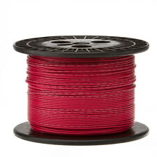 "16 AWG Gauge Stranded Hook Up Wire Red 250 ft 0.0508"" UL1007 300 Volts"