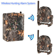Home/Garage/Farm Infrared Motion Sensor Wireless Alert Alarm System Trail Hunt