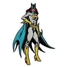 Batgirl Superhero Heroine Patch Batman DC Comics Girl Character Iron-On Applique