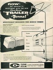 "Mobilehome Re: Vintage Sales Sheet: ""TRAILER-TENNA"" TV Antenna"
