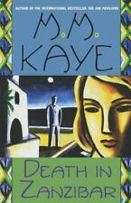 Death in Zanzibar by M. M. Kaye (1984, Paperback)-YY-206