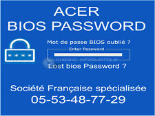 UNLOCK SUPERVISOR BIOS PASSWORD for Acer  TravelMate 7720 7320 MS2206