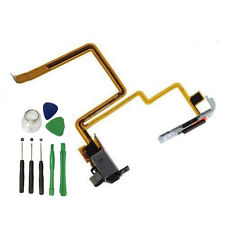 Para iPod Video 5th 30GB Negro Auriculares Jack de Audio Flex Cable Interruptor Hold herramientas
