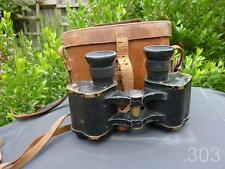 1916 WWI British Military Army Prismatic No.3 Mk.I Binoculars x6, W.Watson & Son