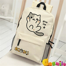 Japanese Game Neko Atsume ねこあつめ  Cute Cat Shoulder Bag  Backpack School Bag Sa
