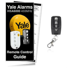 Yale Alarm HSA6300 Premium Compatible Remote Control For All HSA6000 Systems
