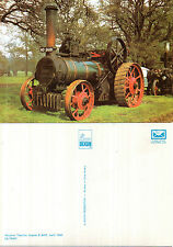 1882 McLAREN TRACTION ENGINE 8 NHP UNUSED COLOUR POSTCARD BY DIXON L6 / 7945 T