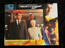 THE WORLD IS NOT ENOUGH lobby card #2 PIERCE BROSNAN, JAMES BOND 007