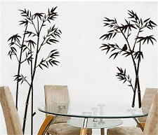 Wall Stickers Home Decor Vinyl Art Decal Mural Bamboo Living Room Decor Paper