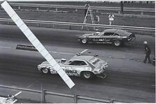 1970s NHRA Drag Racing-Funny Cars-Male Grove-FUNNY FARMER Pinto vs Las Vega