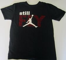 MICHAEL JORDAN NIKE AIR STILL FLY T SHIRT MENS SIZE LARGE