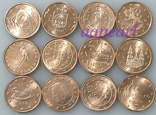 EU 12 European countries different Coins rare Collections Uncirculated 12pcs