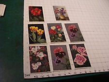 Postcards: 8 FLOWERS, 7 by THOR E GYGER, 1 is not