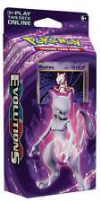 Pokemon TCG: XY12 Evolutions Theme Cubierta MewTwo