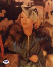 MARLENE DIETRICH PSA/DNA SIGNED 8X10 PHOTO AUTHENTICATED AUTOGRAPH