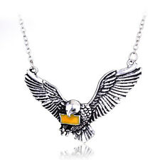 Harry HP Hedwig The Post Owl With The Letter Of Admission Pendant Necklace
