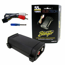 Stinger SGN141 Line Output Converter 55W Watts Adjustable High Power into RCA