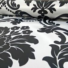 ROMEO DAMASK WALLPAPER - BLACK WHITE - ARTHOUSE 693500 NEW