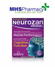 Vitabiotics Neurozan Tablets 30 Brain Health Nervous System Iron,Zinc,Vt B,Q10,C