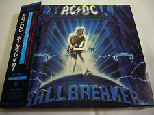 AC/DC-Ballbreaker JAPAN 1st.Press w/OBI BOX Kiss Iron Maiden Black Sabbath Rush